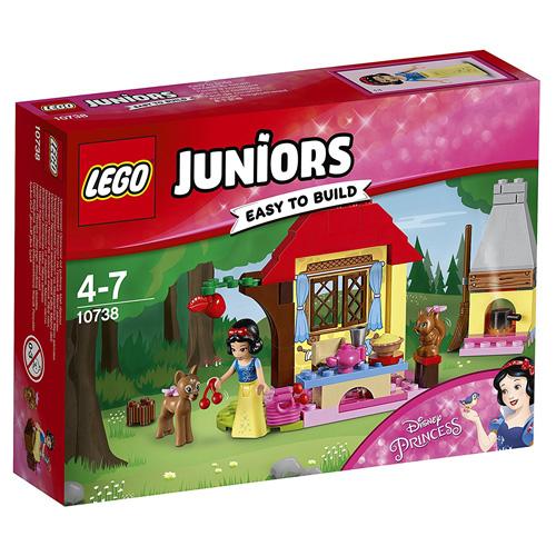 Stavebnice LEGO Juniors Princess Sněhurčina chaloupka v lese, 67 dílků