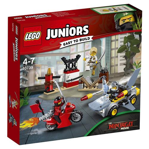 Stavebnice LEGO Juniors Ninjago Žraločí útok, 108 dílků