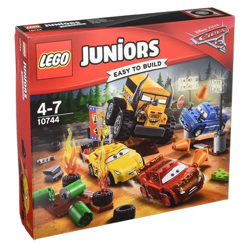 Stavebnice LEGO Juniors Cars Závod Thunder Hollow Crazy 8, 191 dílků