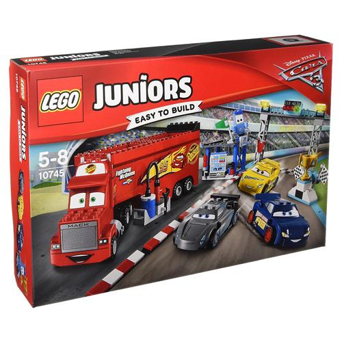 Stavebnice LEGO Juniors Cars Finálový závod Florida 500, 266 dílků