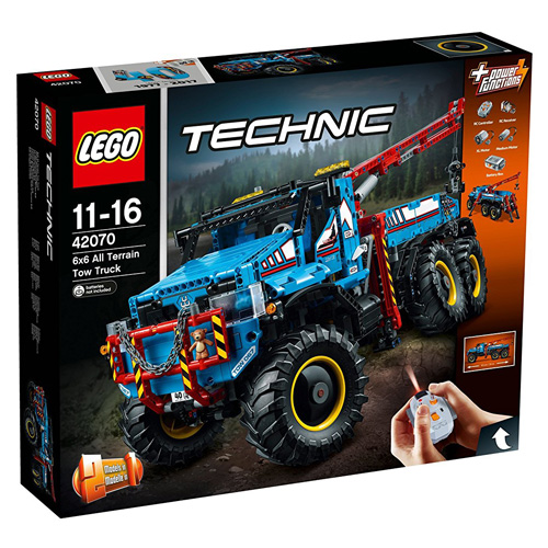 Stavebnice LEGO Technic Terénní odtahový vůz 6x6, 1862 dílků