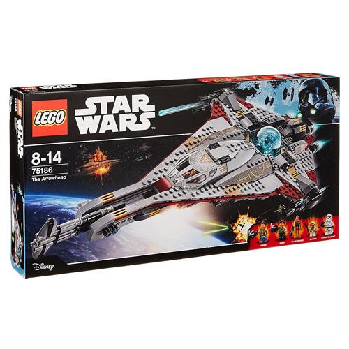 Stavebnice LEGO Star Wars Vesmírná loď Arrowhead, 775 dílků