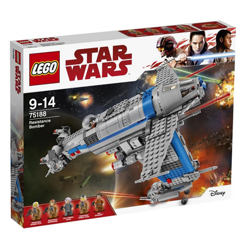 Stavebnice LEGO Star Wars Bombardér Odporu, 780 dílků
