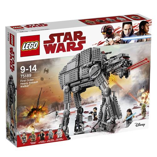 Stavebnice LEGO Star Wars Těžký útočný chodec Prvního řádu, 1376 dílků