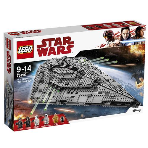 Stavebnice LEGO Star Wars Hvězdný destruktor Prvního řádu, 1416 dílků