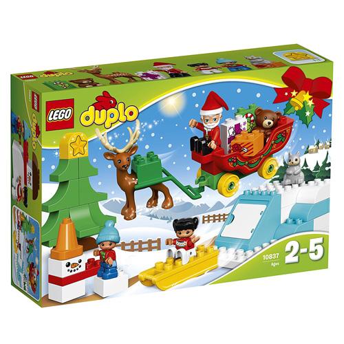 Stavebnice LEGO Duplo Santovy Vánoce, 45 dílků