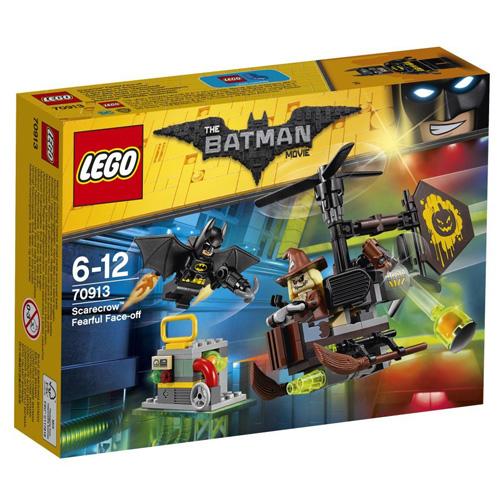 Stavebnice LEGO Batman Movie Scarecrow™ a jeho strašlivý plán, 141 dílků