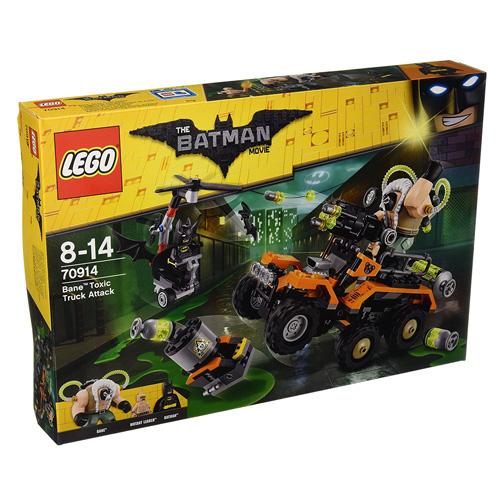 Stavebnice LEGO Batman Movie Bane™ a útok s náklaďákem plným jedů, 366 dílků