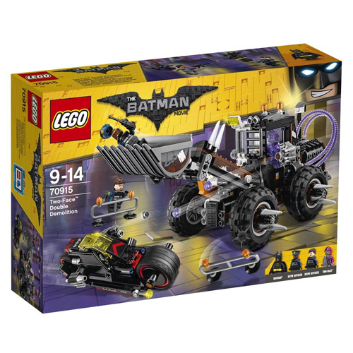 Stavebnice LEGO Batman Movie Two-Face™ Dvojitá demolice, 564 dílků