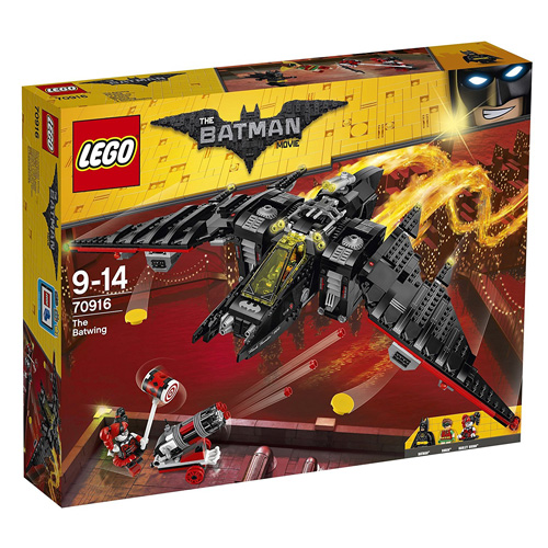 Stavebnice LEGO Batman Movie Batmanovo letadlo, 1053 dílků