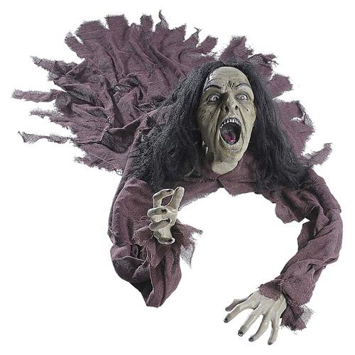 Plazící se figurína Widmann Čarodejnice, 160 cm
