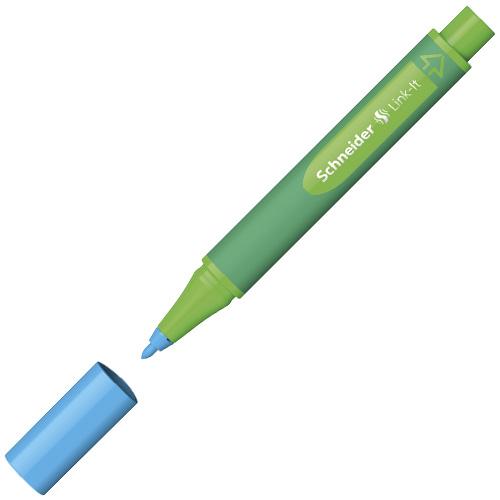 Popisovač Schneider Link-It, 1 mm, světle modrý