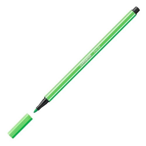 Vláknový fix Stabilo Pen 68, 1 mm, smaragdově zelený