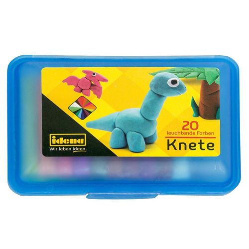 Idena Knetbox blau