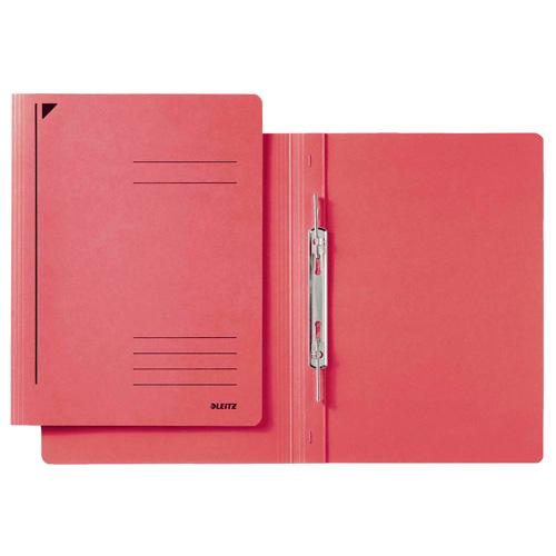 Desky s rychlovazačem Leitz A4, červené