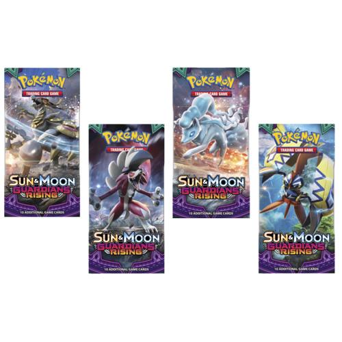 Hrací karty Amigo Pokémon, edice Sun and Moon - Guardians Rising, 1 balíček
