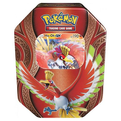 Hrací karty Amigo Pokémon, edice Sun and Moon - Burning Shadows, plechová dóza