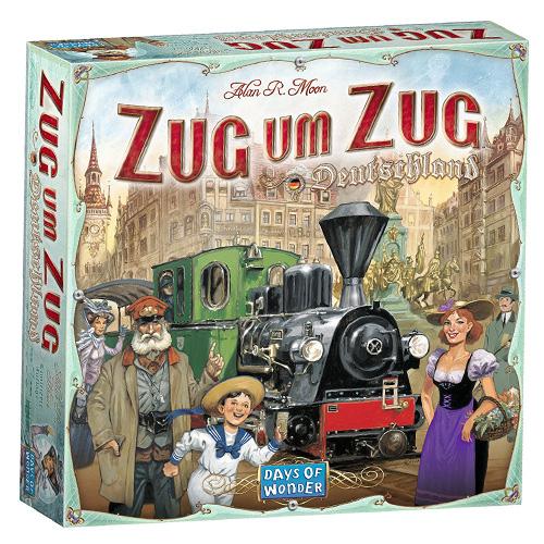 Days of Wonder Zug um Zug - Německo stolní hra