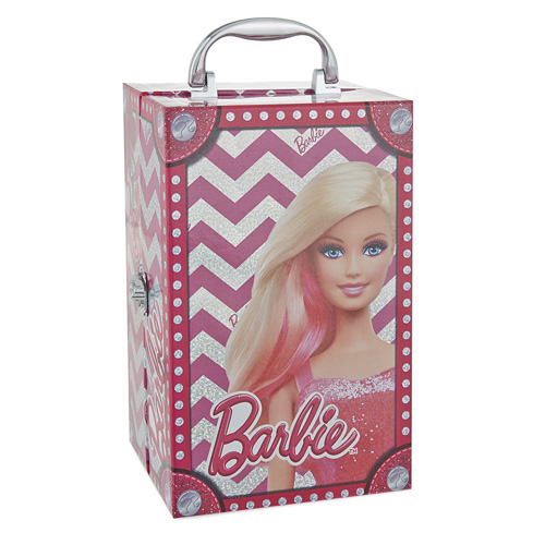 Kosmetický kufřík Barbie 20 ks