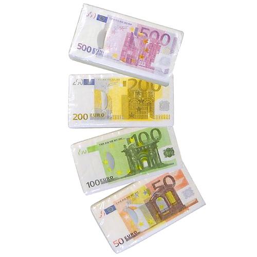Papírové kapesníky Trend Haus Euro, 4 druhy, třívrstvé