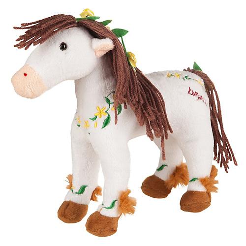 Plyšový kůň Happy People Eyelas, 20 cm