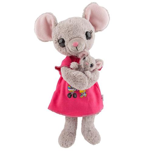 Plyšák House of Mouse Myší maminka s myšátkem, 30 cm