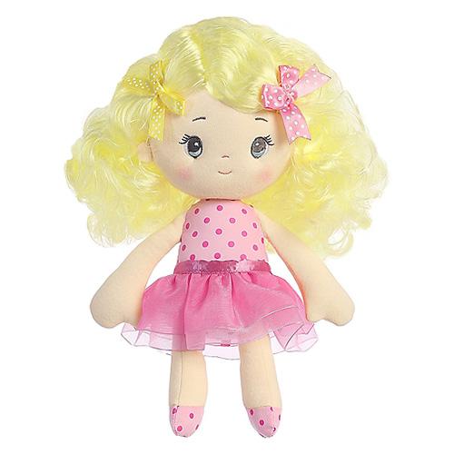 Hadrová panenka Aurora Isabella, 25 cm
