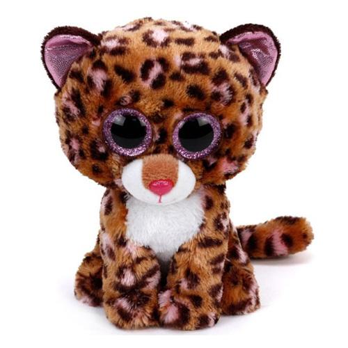 Plyš Beanie Boos Ty Leopard Patches, 15 cm