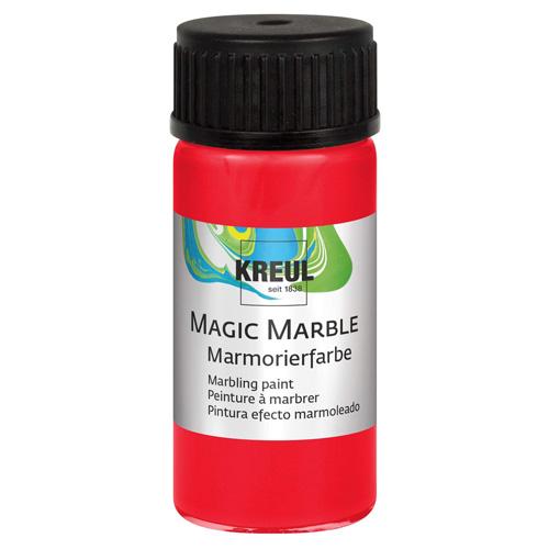 Barva na mramorování C.Kreul Magic Marble, 20 ml, červená