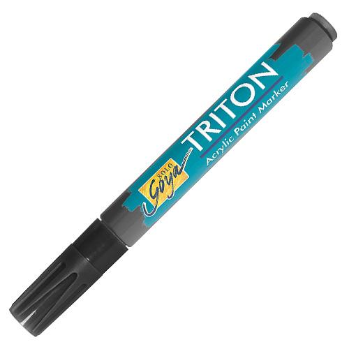 Akrylový fix C.Kreul Triton, 1-4 mm, černý