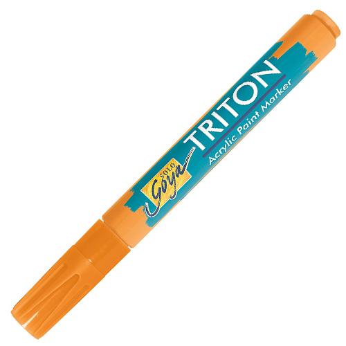 Akrylový fix C.Kreul Triton, 1-4 mm, svítící oranžový