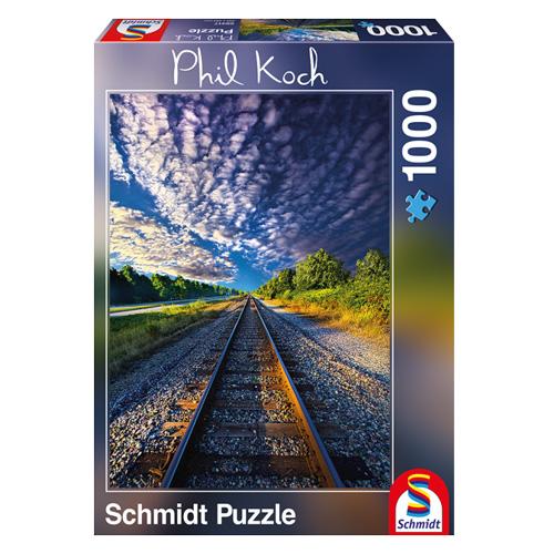 Schmidt Puzzle 1000 Teile Fernweh