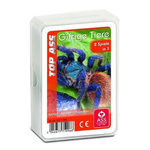 Karty Kvarteto ASS Altenburger Exotická zvířata, 32 karet