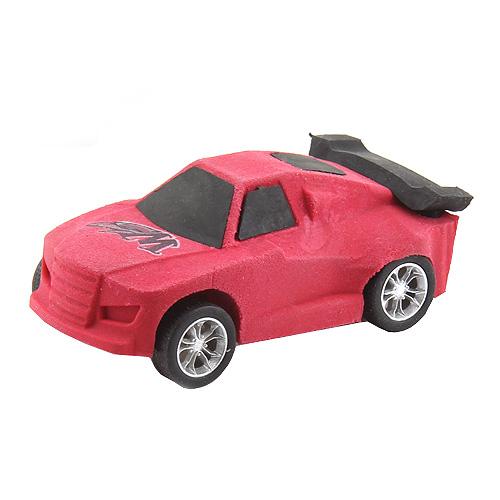 Guma ve tvaru auta Monster Cars ASST Barva červená