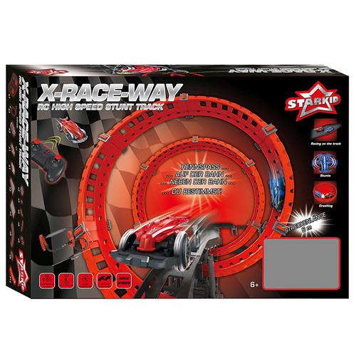 Star Kid Rennbahn I/R X-Race Way