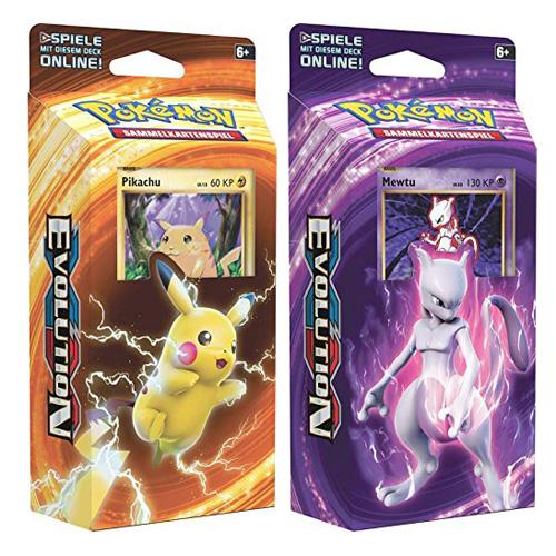 Hrací karty Pokémon XY 12 Evolution, 60 karet, 2 druhy