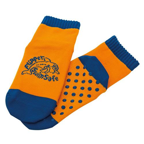 Ponožky do vody Flipper SwimSafe Vel. 27-30, oranžovo-modré
