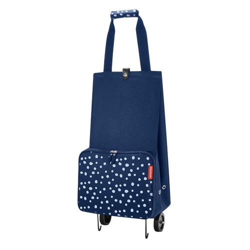 Nákupní taška Reisenthel Modrá s puntíky, skládací | foldabletrolley