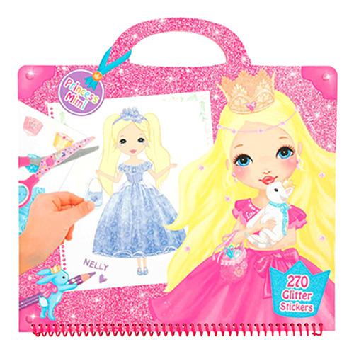 Omalovánky My Style Princess 270 samolepek, taštička