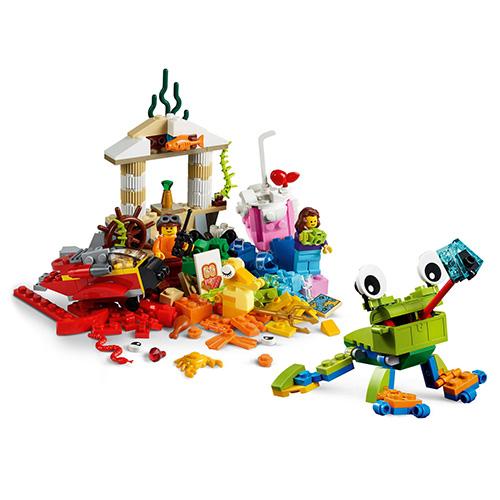 Stavebnice LEGO Classic Svět zábavy, 295 dílků