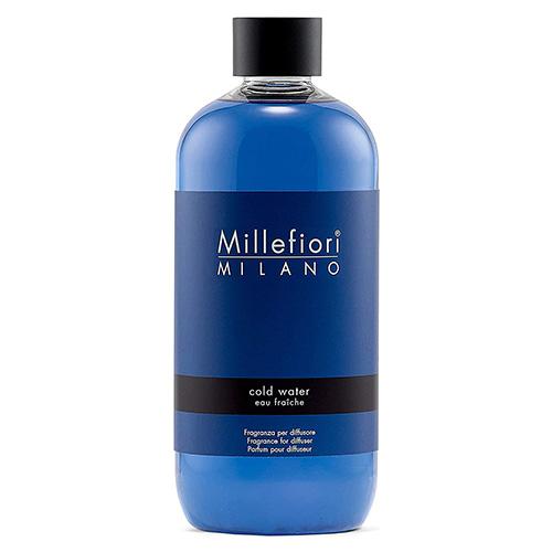 Náplň do difuzéru Millefiori Milano Natural, 500ml/Chladná voda