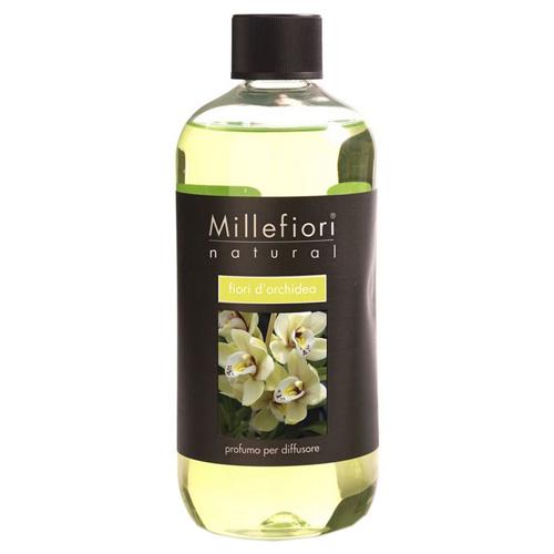 Náplň do difuzéru Millefiori Milano Natural, 500ml/Květy orchideje