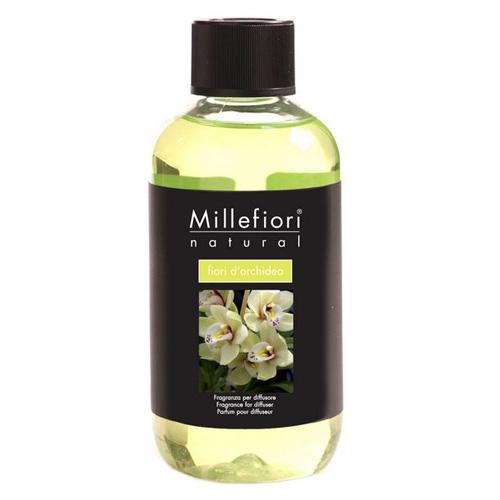 Náplň do difuzéru Millefiori Milano Natural, 250ml/Květy orchideje