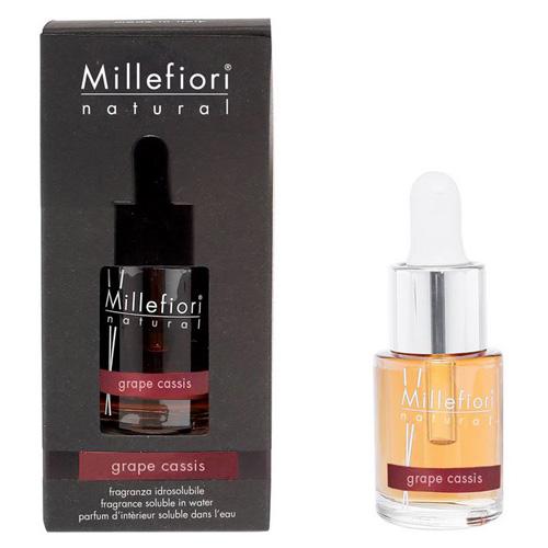 Aroma olej Millefiori Milano Natural, 15 ml/Hrozny a černý rybíz