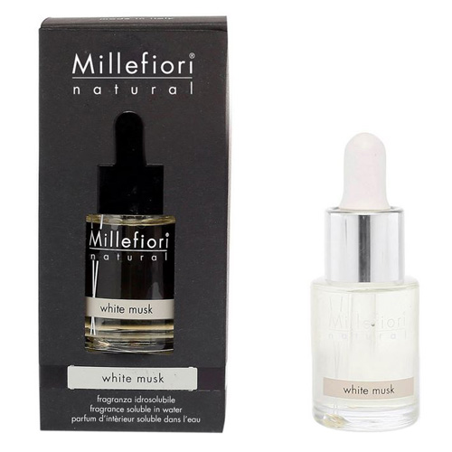 Aroma olej Millefiori Milano Natural, 15ml/Bílé pižmo
