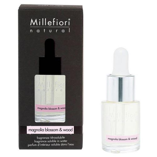 Aroma olej Millefiori Milano Natural, 15ml/Květy magnólie a dřevo