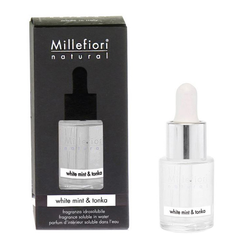Aroma olej Millefiori Milano Natural, 15ml/Bílá máta a tonkové boby