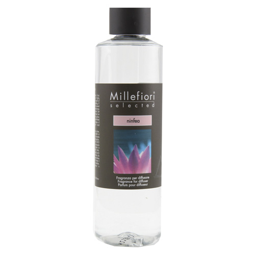 Náplň do difuzéru Millefiori Milano Selected, 250ml/Leknín