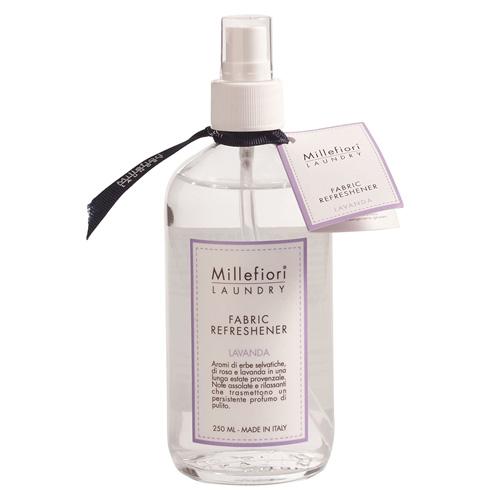 Osvěžovač tkanin Millefiori Milano Laundry, 250 ml/Levandule