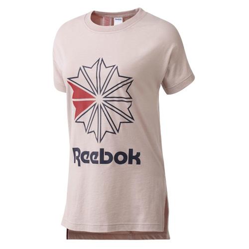 Reebok F GR TEE 02 | CASUAL | W | T-SHIRT (SHORT SLEEVE) | SHEPNK | XS